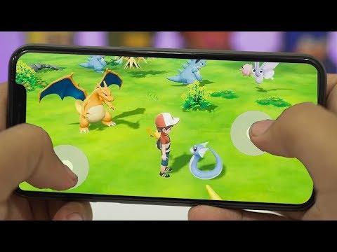 Топ 5 Игр про Покемонов для Android и iOS (видео)