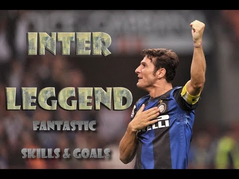 Javier Zanetti ● Inter Legend ● Fantastic Skills & Goals | HD