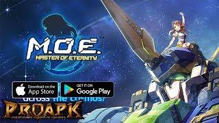 Video Master of Eternity (MOE) English Gameplay Android / iOS (Super Robot Wars Clone????) MP3, 3GP, MP4, WEBM, AVI, FLV Maret 2018