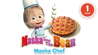 Video Masha and The Bear - Cooking and eating in the kitchen with Masha! Cartoons about food 2016 MP3, 3GP, MP4, WEBM, AVI, FLV Agustus 2018