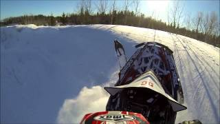 9. 2013 Pro rmk 800 first ride of the season