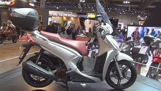 10. Kymco New People S 125i (2017) Exterior and Interior