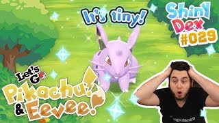 AN EPIC SHINY NIDORAN F in POKEMON LETS GO PIKACHU AND EEVEE! by aDrive