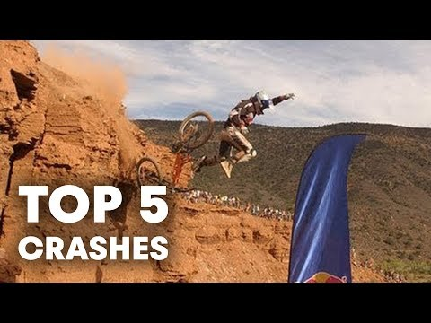 Red Bull Rampage 2012 Top 5 Crashes (видео)