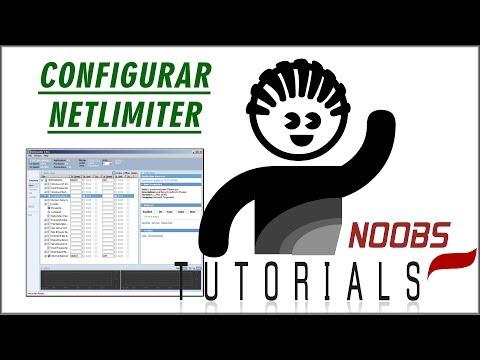 Como usar o net Limiter, como limitar download, upload e como configurar o NetLimiter