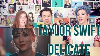 Video Taylor Swift - Delicate - REACTION MP3, 3GP, MP4, WEBM, AVI, FLV Agustus 2018