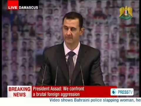 syrian president - President al-Assad : Out of Womb of Pain, Hope Should Be Beget, form Bottom of Suffering Important Solutions Rise DAMASCUS, SANA_ President Bashar al-Assad s...