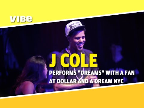 "J Cole Performs ""Dreams"" At His Dollar And A Dream NYC Show"