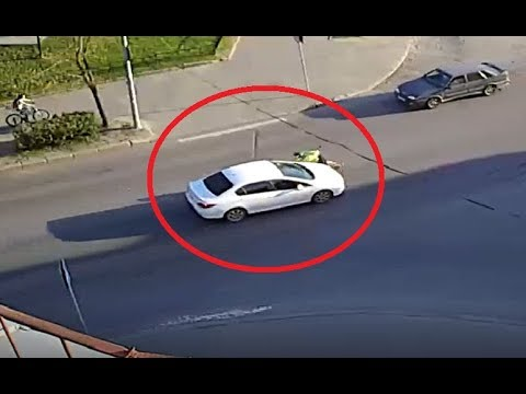 Авария в Петрозаводске на проспекте Карла Маркса