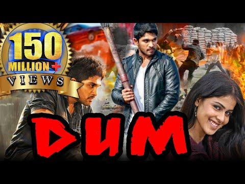 Dum (Happy) Hindi Dubbed Full Movie   Allu Arjun, Genelia D'Souza, Manoj Bajpayee, Brahmanandam
