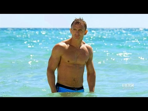 """Casino Royale (2006) Scene: """"A house up the beach""""/'Solange'."""