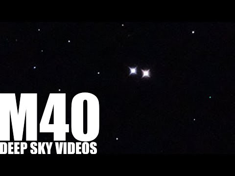 Double Star (M40) - Deep Sky Videos
