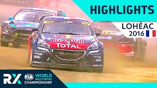 World RX Final | 2016 World Rallycross of France | FIA World RX