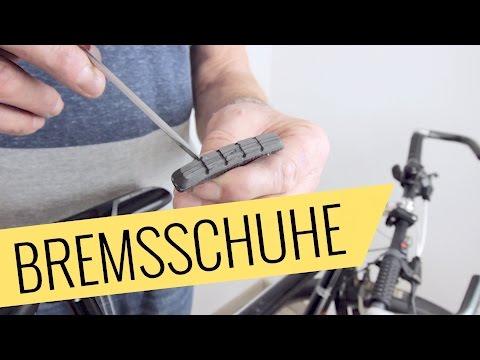 Fahrrad Bremsschuhe wechseln - V-Bremse - Fahrrad.org