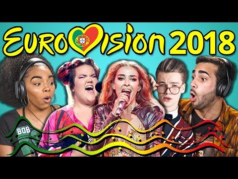 ADULTS REACT TO EUROVISION SONG CONTEST 2018 (видео)