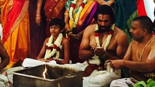 Madhavan Son Vedanth Upanayanam Function held in Chennai Kollywood News 28/08/2015 Tamil Cinema Online