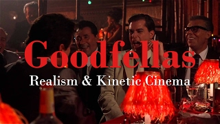 """SPOILERS FOR GOODFELLAS!!Hi guys! This time we're going to talk about Goodfellas (1990) and Martin Scorsese's strive for Realism and Expressive Stylization. I argue that by combining these two styles he manages to recreate the seduction of Henry Hill into the gangster life, and even manages to suck us in with him. It's a brilliant film, if you haven't seen it I would highly suggest you do so as soon as possible.Also, probably a good follow up video would be the Nerdwriter's Wolf of Wallstreet: Cinema of Excess, as it builds on what I say in this video.EDIT: It's actually not Fulvio Orsitto who came up with the term 'kinetic energy' but Kathleen Murphy!Storytellers podcast coming soon!: https://www.youtube.com/channel/UCkQ54FS3T5QO2lYkt86klFwPATREON: https://www.patreon.com/Storytellers1FACEBOOK: https://www.facebook.com/storytellervideos/TWITTER: https://twitter.com/storytellervidsFILMS USED:- The Godfather, dir. Francis Ford Coppola, 1972- Goodfellas, dir. Martin Scorcese, 1990MUSIC USED:- GOODFELLAS SOUNDTRACKLITERATURE USED:- Martin Scorsese's Goodfellas: Hybrid Storytelling between Realism and Formalism, Fulvio Orsitto, 2011.- Made Men, Kathleen Murphy, 1990.Copyright Disclaimer under section 107 of the Copyright Act 1976, allowance is made for """"fair use"""" for purposes such as criticism, comment, news reporting, teaching, scholarship, education and research.Fair use is a use permitted by copyright statute that might otherwise be infringing."""