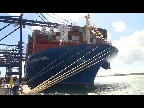 Cosco Taurus: Στον Πειραιά ένα από τα μεγαλύτερα πλοία μεταφοράς κοντέινερ…