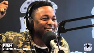 Kendrick Lamar Tells Big Boy What He Wants For Christmas