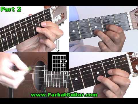 Flaca - Calamaro Leccion de Guitarra 2 www.FarhatGuitar.com
