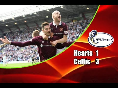 Hearts - Celtic 1-3 06-05-2018 Highlights Scottish Premiership