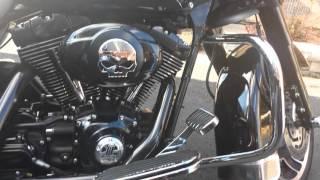 10. Harley Davidson Electra glide cold start