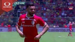 Video Doblete de Canelo | Toluca 3 - 2 América | Clausura 2019 - Jornada 15 | Televisa Deportes MP3, 3GP, MP4, WEBM, AVI, FLV April 2019