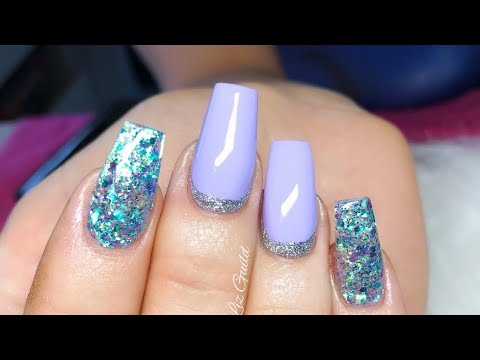 Gel nails - Acrylic Infill, Rebalance And Gel Manicure