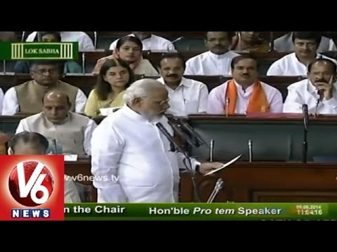 Modi, Sushma, Sonia Taken Oath as MP's in 16th Lok Sabha