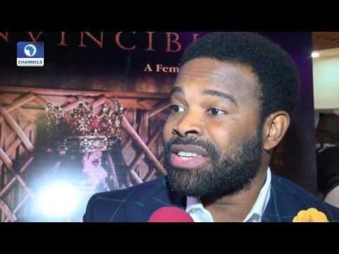 EN: Martial Art Themed Epic Movie King Invincible Premieres in Lagos
