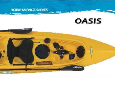 Hobie Mirage Oasis Kayak Overview