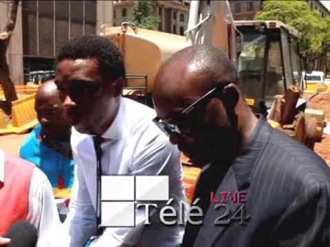 AFRIQUE DU SUD: Libération de 15 combattants arrêtés à Pretoria