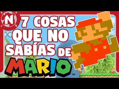 7 cosas que no sabías de Mario