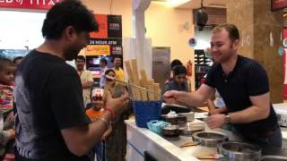 Turkish ice cream in India The most interesting show entertainment excitement comedy v12