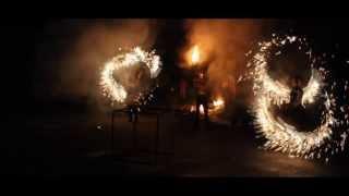 Вогняне та піротехнічне шоу на новорічно-різдвяні свята