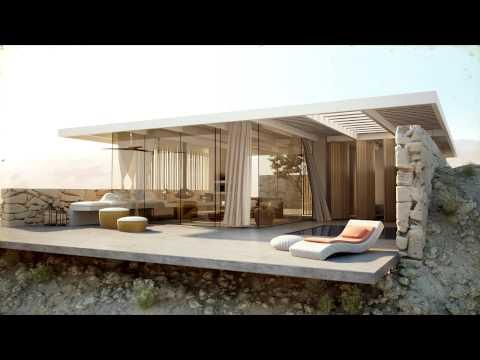 Desert Villa - Architecture Visualization