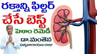 ఇంజిన్ ఆయిల్ మార్చినట్లుగా రక్తం మార్చాలంటే ? | Blood Filter | Dr Manthena Satyanaryana Raju Videos