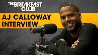 Video AJ Calloway Talks 106 & Park, Running Clubs In New York & More MP3, 3GP, MP4, WEBM, AVI, FLV Oktober 2018