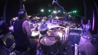 Andyan Gorust Drum cam Deadsquad