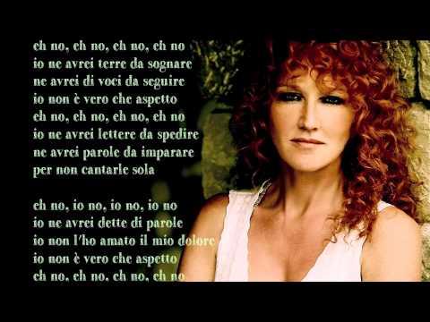 , title : 'Fiorella Mannoia - Lunaspina - Base musicale con testo'