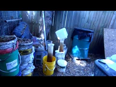 Diesel Mercedes Filtering Process Of Waste Cooking Oil Into Fuel Tampa FL Jan 11th 2015