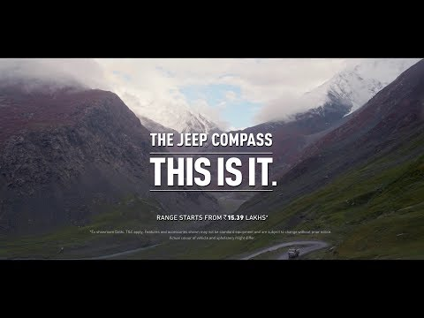 Jeep India-THE JEEP COMPASS | THIS IS IT