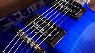 Video Melody rock backing track Em