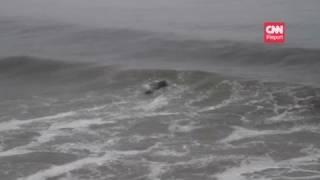 Video CNN: Surfing the tsunami wave in California MP3, 3GP, MP4, WEBM, AVI, FLV November 2018