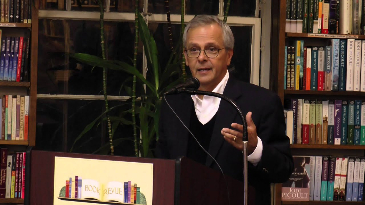 Mike Lupica Talks About His New Book FANTASY LEAGUE at the Book Revue