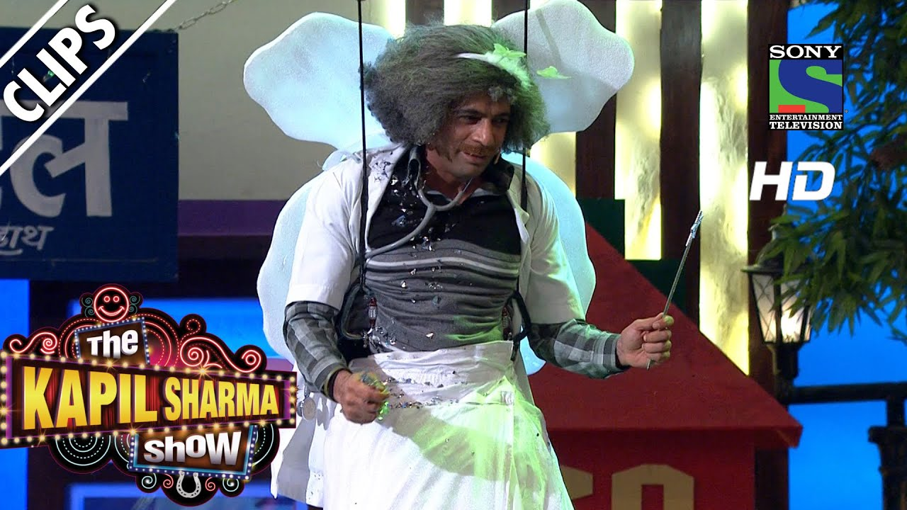 Meet Dr. Gulati in his Angel Avatar – The Kapil Sharma Show-Episode 40- 4th September 2016