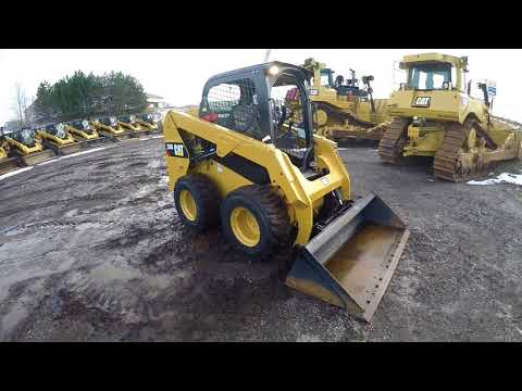 CATERPILLAR SKID STEER LOADERS 236D equipment video JHJhdIjBEBI