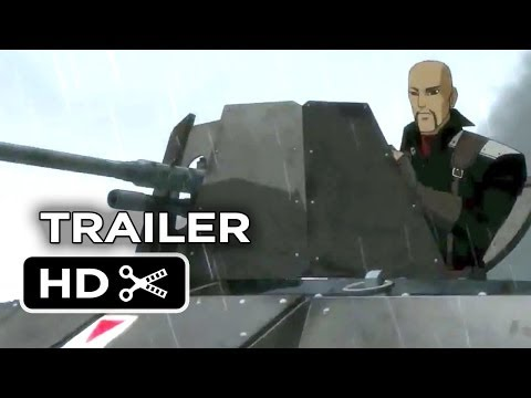 War of the Worlds Goliath Official Trailer #1 (2014) - Animated Sci-Fi Movie HD