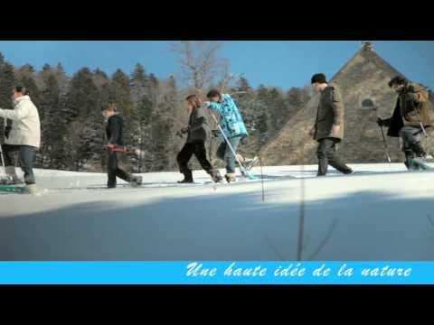 Un hiver au Plateau d'Hauteville (Ain)