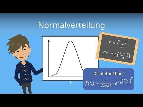 Normalverteilung / Gaußverteilung - Stochastik einfach erklärt mit Rechenbeispiel